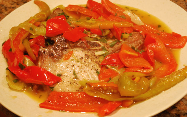Pork-chops-with-hot-peppers
