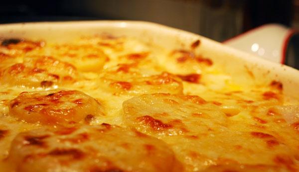 Potatoes-au-gratin