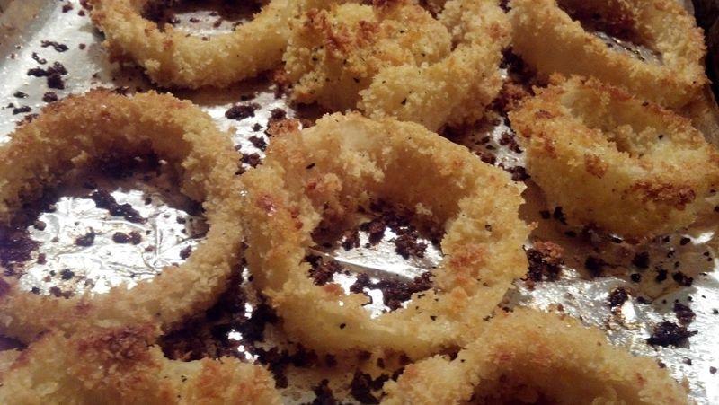 Panko-onion-rings