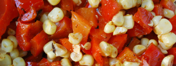 Roasted Corn and Red Pepper Salsa